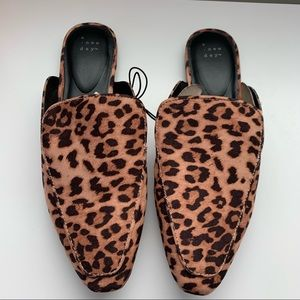 A new day leopard mule Size 11